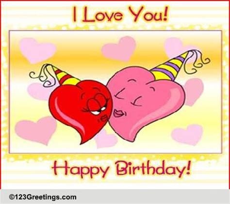 123 Greetings Birthday Card For Husband Birthday Husband Wife Cards Free Birthday Husband