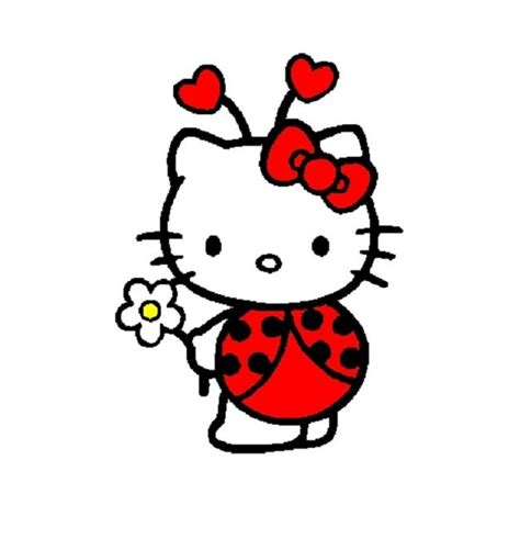 hello kitty ladybug coloring pages 93 best images about animal on pinterest sharks happy