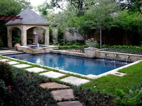 small backyard pool landscaping ideas pool landscaping ideas on a budget google search