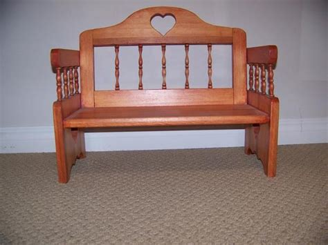 doll bench wooden doll bench handcrafted by herb east regina regina