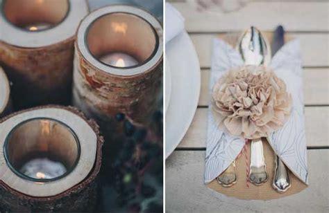 Holz Deko Hochzeit by 25 Diy Tisch Deko Hochzeit Holz Kerze Vintage Hochzeit