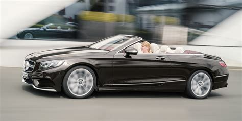 mercedes s class convertible 2018 mercedes s class coupe cabriolet revealed here