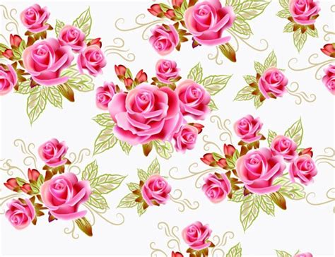 wallpaper bunga pernikahan 花纹矢量图 矢量图下载 三联