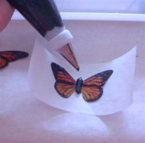 wafer paper butterfly tutorial how to make realistic edible butterflies for your cake