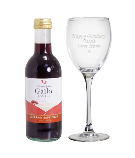 personalised red wine wine glass set just for gifts