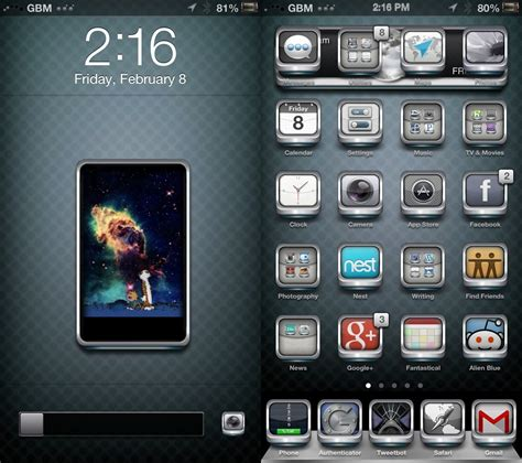 top black themes cydia image gallery iphone 4s jailbreak layouts