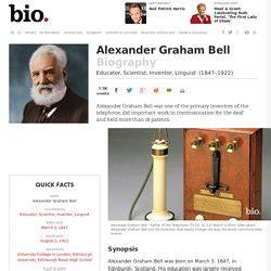 alexander graham bell biography article alexander graham bell telephone pearltrees