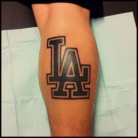 la tattoo logo image gallery la dodgers tattoos
