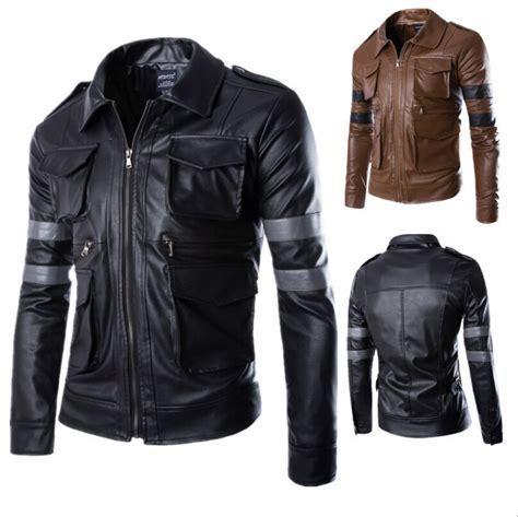 Jaket Kulit Pria Sporty jual jaket blazer kerah kulit sintetis kulit ori pria