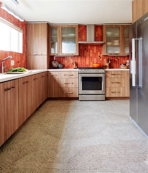 white glass tile backsplash kitchen midcentury with sweet contemporary kitchen midcentury modern house with