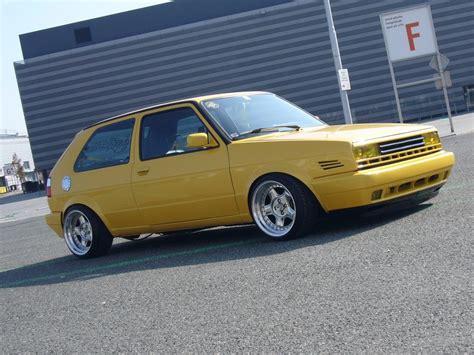 volkswagen yellow volkswagen golf mk2 yellow