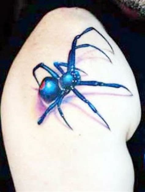 upper shoulder tattoo designs arachnid on shoulder
