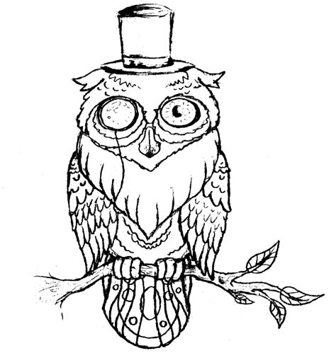 owl outline tattoo designs owl outline