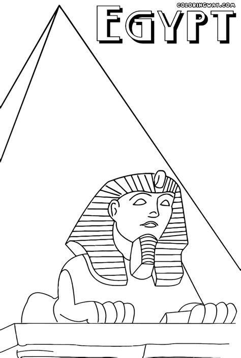 coloring pages egyptian pyramids 90 printable coloring pages of egyptian pyramids