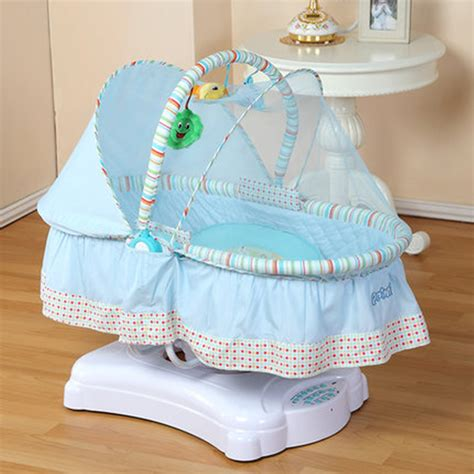 baby swing cradle bed aliexpress com buy baby crib electric rocker plus