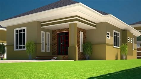 3 bedroom bungalow house plans 3d 3 bedroom bungalow plan on half plot house floor plans