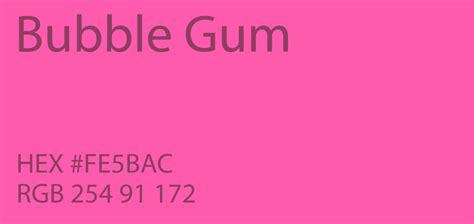gum color 24 shades of pink color palette graf1x