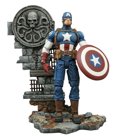 Marvel Select Captain America Disney exclusive figures bring the battle to marvel shop and disney stores select toys