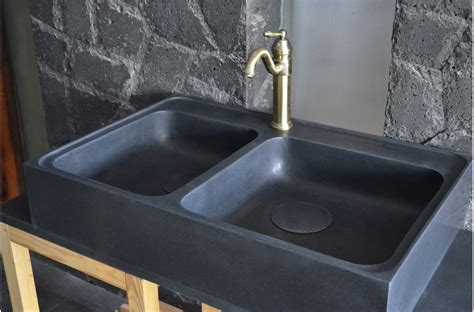 Black Granite Kitchen Sink by 900mm Black Granite Bowl Kitchen Sink Karma Shadow