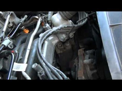 ford    heater hose  intake replacement