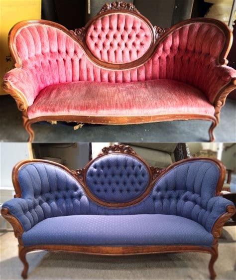 upholstery before and after before and after sofa biz