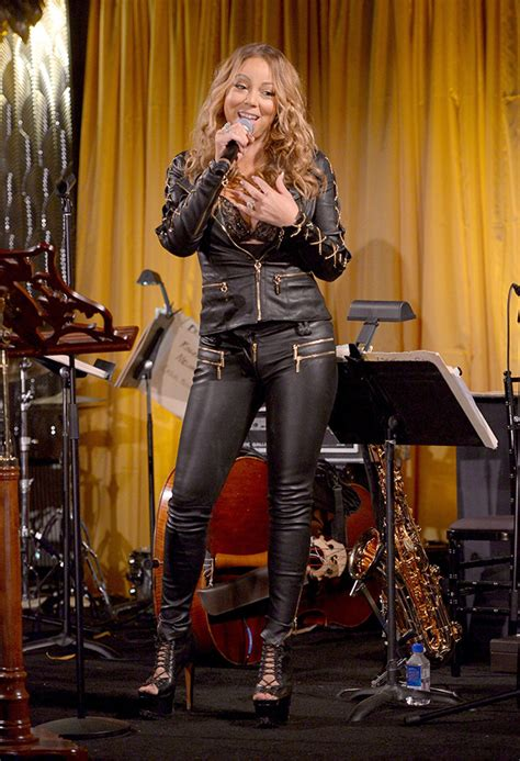 How To Maintain Carpet by Mariah Carey S Rocking Her Inner Catwoman For Un Red