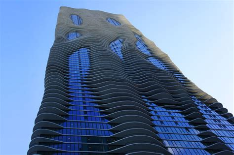Coolest Treehouse In The World jeanne gang s green roofed aqua tower ripples up towards