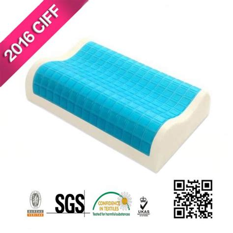 comfort revolution hydraluxe gel memory foam bed pillow buy comfort revolution memory foam hydraluxe cooling