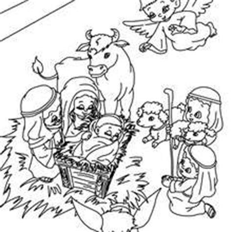 imagenes del nacimiento de jesus para pintar dibujos para colorear pesebre es hellokids com