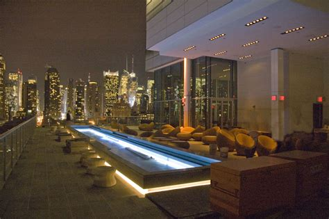 New York Roof Top Bar by Pool Bars Soho New York Bar D Eau Nyc Hotels With