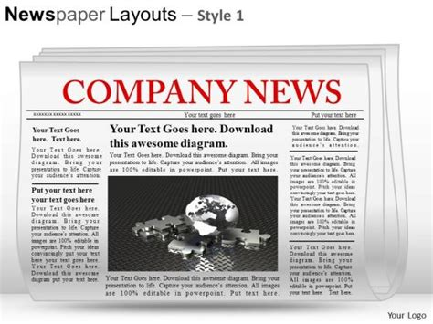 free newspaper layout design templates newspaper layout template free