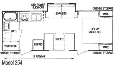 layton travel trailer floor plans layton joey select travel trailer model 254