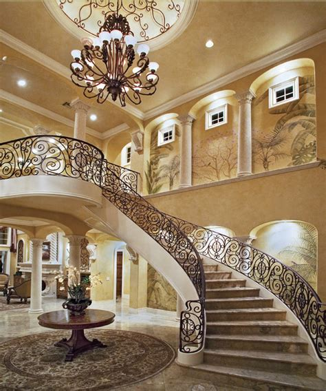 beautiful foyers a look at some grand foyers from houzz com homes of the rich