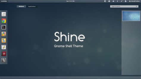 themes gnome 3 gnome shell gnome shell theme shine updated for ubuntu 12 04