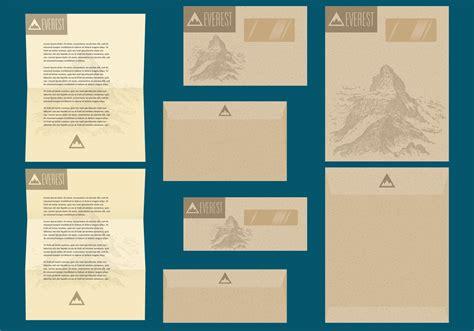 rustic letter envelope templates