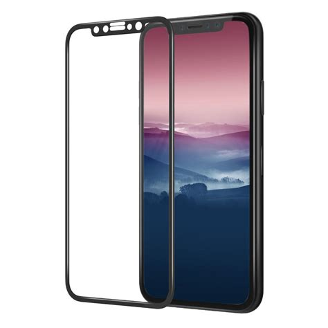 tempered glass 5d iphone x xs black gt phone protection screen protectors and tempered