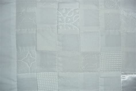 White On White Quilts by White Squares Quilt