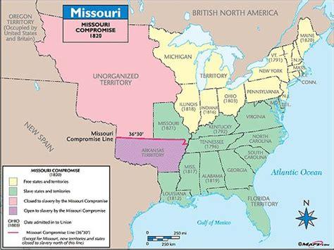 missouri compromise map activity missouri compromise map 5th grade social studies