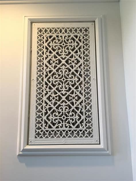 Plaster Ventilation Grills by Decorative Grilles Beaux Arts Classic Products