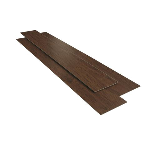 luxury vinyl plank home depot home decorators collection 6 in x 36 in java hickory