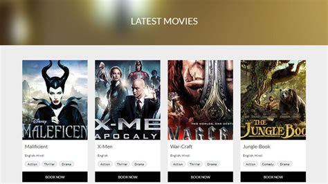 bootstrap templates for entertainment cine show cinema movie entertainment html bootstrap