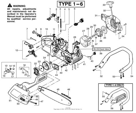 poulan thing chainsaw parts diagram poulan 2375 gas saw type 6 wildthing 2375 gas saw type 6