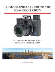 Intermediate Guide To Digital Photography white press releases color guide book for sony dsc rx100 v