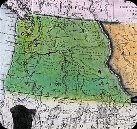 map of oregon 1840 creation of washington territory 1853