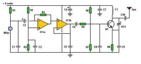 rf power lifier integrated circuit world technical fm transmitter circuit