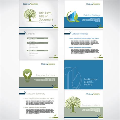 Professional Consulting Report Template Professional Serious Powerpoint Design For Discovery