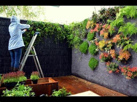 jardines paisajistas plantaci 243 n de un jard 237 n vertical la paisajista