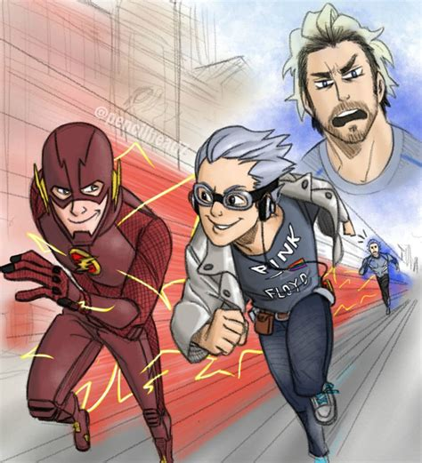 movie quicksilver vs flash flash vs quicksilvers by pencilhead7 on deviantart
