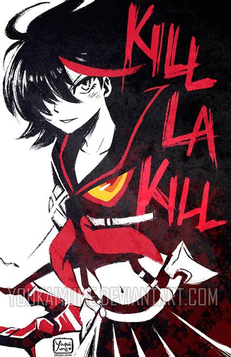 kill la kill ryuko side by youkaiyume on deviantart