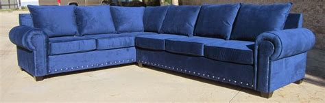 blue blue sectional